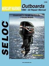 1990 2000 Mercury Mariner 2.5-275 HP 2-cycle Outboard Seloc Repair Manual 0519