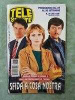 36) TELESETTE ITALIAN MAGAZINE N 39/2000 FERRARI DANIELA POGGI MEMPHIS BARALE