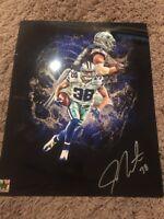 Jeff Heath #38 Dallas Cowboys Autographed 8x10 Photo Gdst Hologram