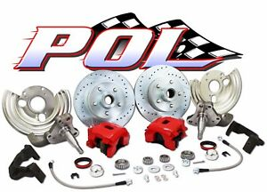 Performance Online 62-74 Mopar, Dodge, Plymouth Deluxe Disc Brake Conversion