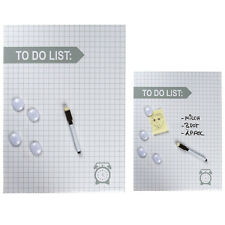 MAGNETIC NOTICE BOARD MEMO MESSAGE ORGANISER TO DO LIST MATHS PLANNER MAGNETS