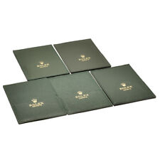 Auth ROLEX Document holder 5 pieces around 90s Green Used ip040