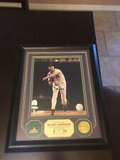 Rare Randy Johnson Sports Autographed plaque. Limited to only 51.