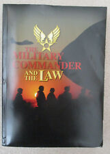THE MILITARY COMMANDER AND THE THE LAW 2010 JAG TENTH EDITION SC BOOK