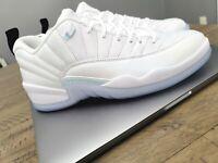 "Air Jordan 12 Retro Low ""Easter"" DB0733-190 Mens Size 8.5 Shoes (2021) New White"