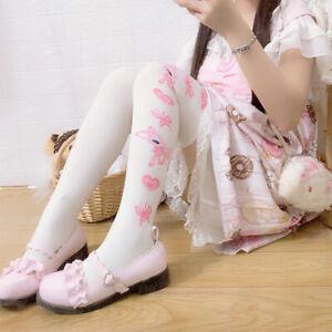 Women Girl Cute Deer Preppy Lolita Stocking Thighhigh Sock Dance Cosplay Socks