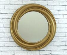 Resin Art Deco Style Round Decorative Mirrors