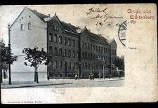 GRUSS AUS LICHTENBERG / BERLIN (ALLEMAGNE) SCHULE / ECOLE animée avant 1904