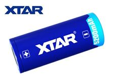New XTAR 26650 5200mAh 3.6V Flat Top Protected Rechargeable Battery