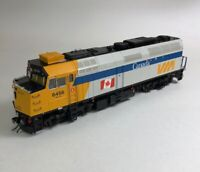 Rapido HO F40PH-2D with DCC and sound VIA Rail Canada