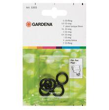 GARDENA 5303 guarnizioni O ring 5 pz x innesto rapido nuovo pronta consegna new