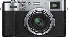 Fujifilm - X-Series X100V 26.1MP Digital Camera - Silver