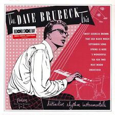 "Dave Brubeck Trio – Distinctive Rhythm Instrumentals on 10"" Red Vinyl RSD NEW"