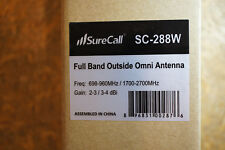 SC-288W: SureCall Full Band Outside Omni Antenna New in Box