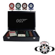 James Bond 007 luxe de poker Kit Poker 300 jetons par CARTAMUNDI