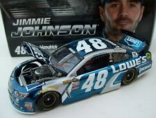 Jimmie Johnson 2016 Lowe's #48 Chevy SS Brilliant Blue Color Chrome 1/24 1of 156