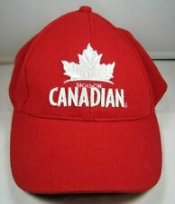 Molson Canadian Beer Stretch Hat