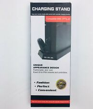 Game Console & Controllers Multifunction Dock Cooling Charging Stand for PS4 NEW