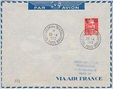 France Cover Transports Postal Stamps
