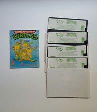 Teenage Mutant Hero Turtles - IBM PC FLOPPY - Ninja - Konami 1990