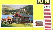 "FALLER HO B-293, "" kleine Berghütte "",RARITÄT,, siehe Fotos !, Neu und OVP !!"