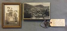 Antique Real Del Monte RDM Silver Mining Co. LORETO Mine Tags Photo Collection