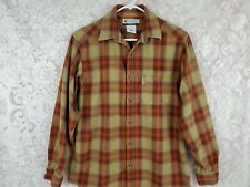 Columbia Mens Shirt Size S Long Sleeve Button Front Plaid Multicolored