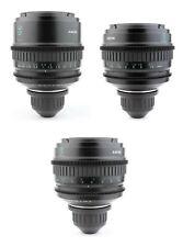 3x SONY 35 50 85 Lens Set with ARRI Arriflex PL Mount F3 F5 F55 RED ALEXA URSA