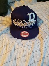 New Brooklyn Dodgers Cooperstown Collection Blue Snapback Hat One Size Fits All