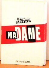 2 Jean Paul GAULTIER Eau de Toilette MA DAME Madame Spray Vial 1.2 ml- .04 fl oz
