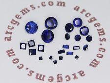 Lab Created Blue Sapphire AAA Loose Gemstone 4mm 6mm 8mm 2x4mm 2x2mm 4x4mm Best