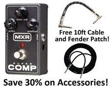 New MXR M132 Super comp Compressor Guitar Effects Pedal! Free Extras! Supercomp
