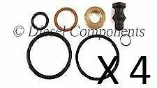 4 x Diesel Injector Seal Repair Kit (Audi Seat VW Skoda Ford) for Bosch PD
