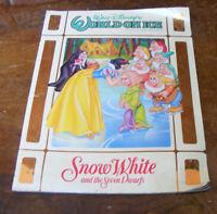 Disney World on Ice Snow White & The Seven Dwarfs Souvenir Program Kenneth Feld