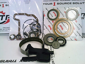 CD4E TRANSMISSION REBUILD KIT 94-97 WITH RAYBESTOS CLUTCH PACK FORD