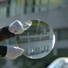 200mm Diameter Optical PMMA Solar Plastic Fresnel Lens Concentrator Magnifier