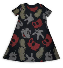 NWT DISNEY STORE MICKEY MOUSE PARTS DRESS ADULT WOMEN SIZE LARGE GLOVES