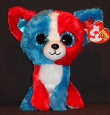 "TY BEANIE BOOS - VALOR the 6""  DOG -  MINT TAGS - CRACKER BARREL EXCLUSIVE"