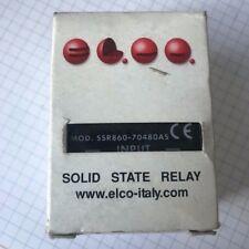 E.L.C.O. Relè elettrostatico