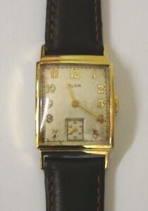 American Elgin G/P Cased Manual Wind Wrist Watch - £325