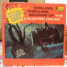 1964 Disneyland Sounds of Haunted House LP Original Insert & Sleeve Great Shape