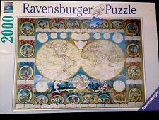Historical Map of World 166701 2000 pc piece Jigsaw Puzzle by Ravensburger new