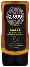Organic Agave Light Syrup - Concentrated - 250ml