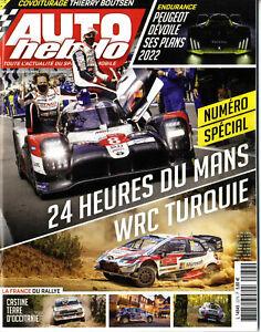 AUTO HEBDO n°2279 23/09/2020 24h du MANS WRC TURQUIE AUDI R18 THIERRY BOUTSEN