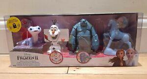 Disney Frozen 2 Playset - Bruni Salamander ,Olaf , Earth Giant  & The Nook