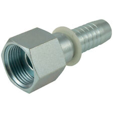 "HYDRAULIC HOSE CONNECTORS - 1""-14 UNF FEMALE - 5/8"" HOSE TAIL 1-10677"