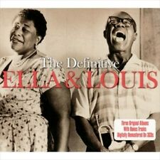 ELLA FITZGERALD/LOUIS ARMSTRONG - THE DEFINITIVE NEW CD