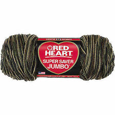 Red Heart Hygge Charm Yarn Rust 073650039003