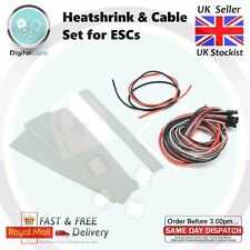 ESC Heatshrink Cable Set 18AWG 16AWG -Suitable for KISS 18A 24A 30A other brands