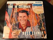 RUSS CONWAY Time To Celebrate (No. 3)  Columbia 1960's EP. Singin in the rain